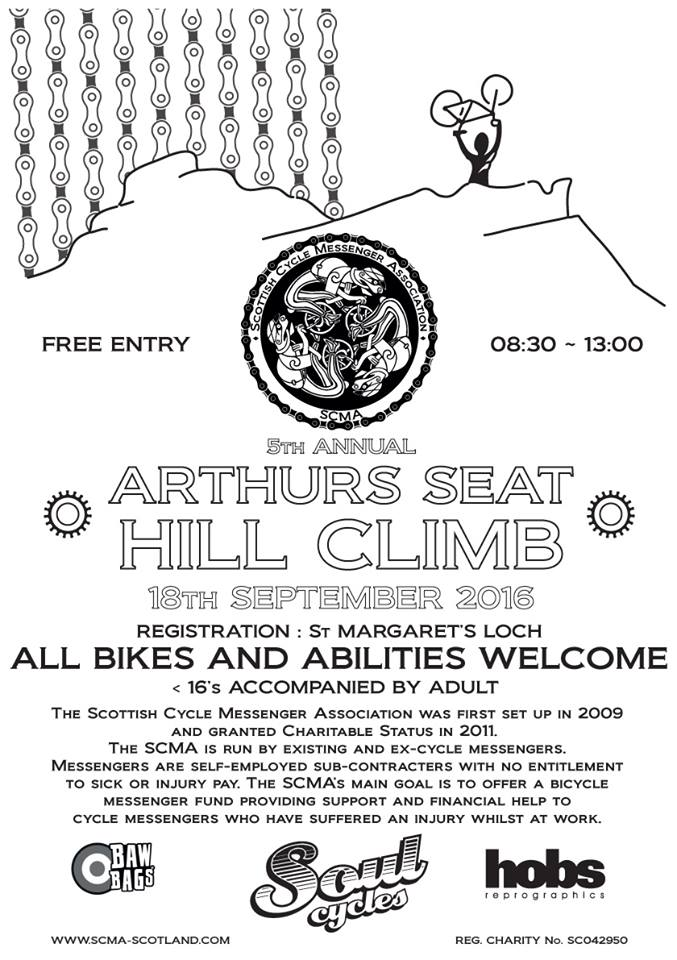 Arthut's Seat Hill Climb 2016